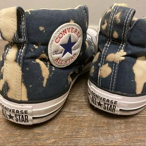 Hand Bleached Converse 8.5m/10.5w